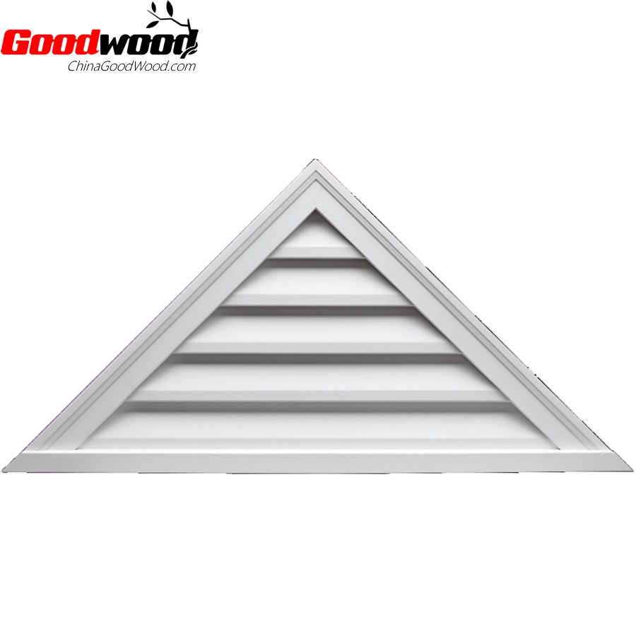 Polyurethane Functional Louver Triangle Brickmould Style