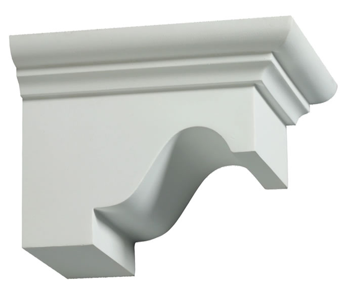 Polyurethane Exterior Decorative Dentil Blocks DTLB4X6X6