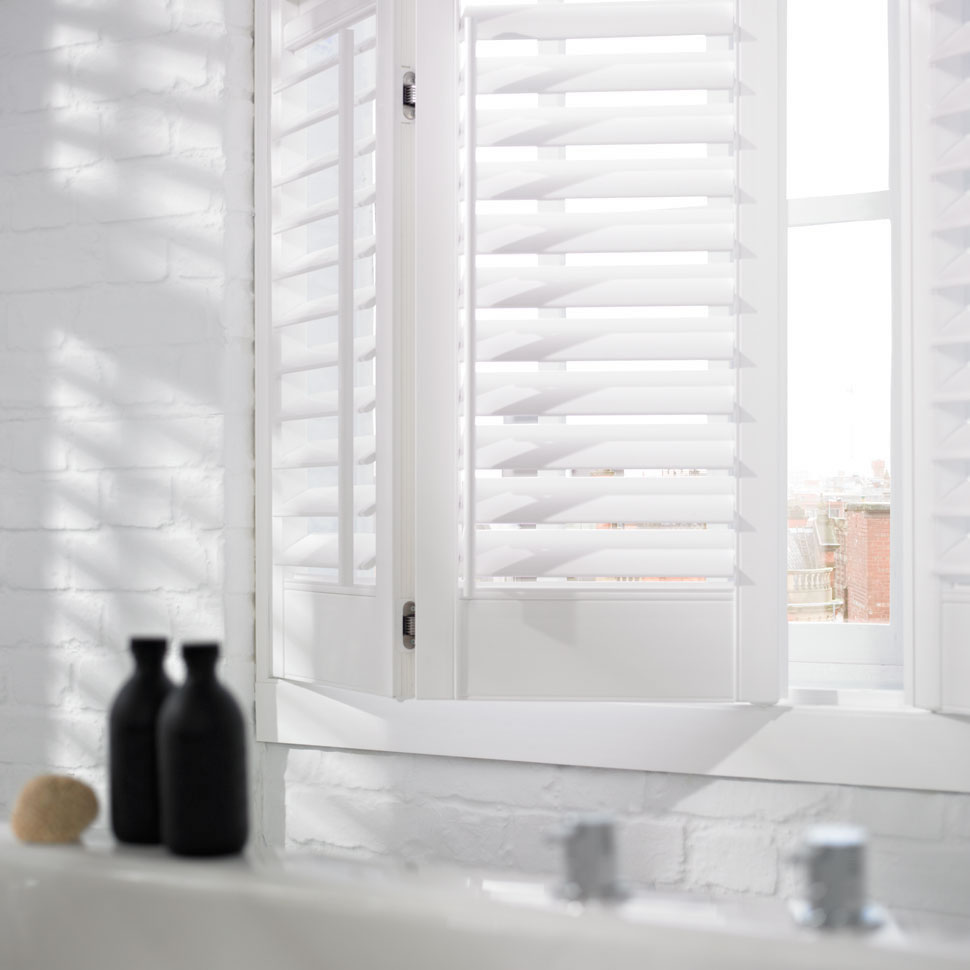 bifold indoor window shutters