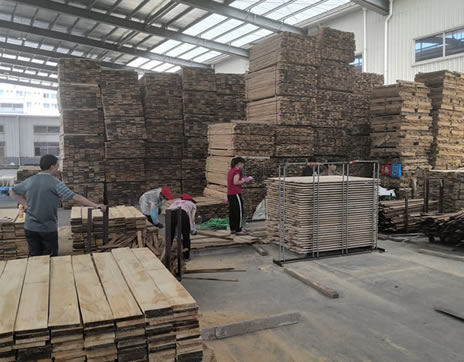 Lumber Drying Process for primed mouldings