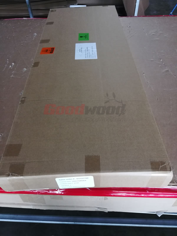 Shutter Panel packing with Label