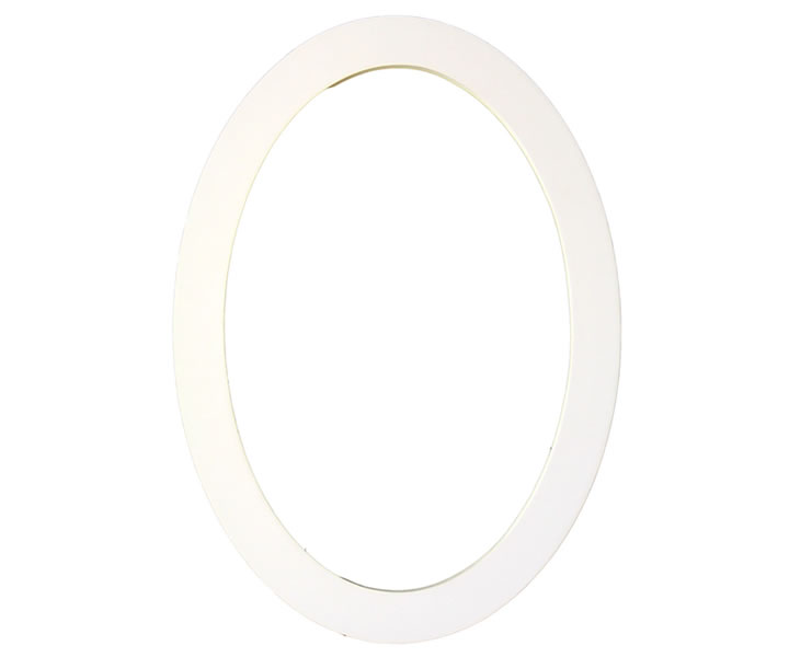 Oval Flat Trim Moulding of Polyurethane