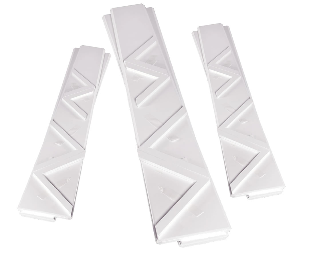 Polyurethane Premium Select Flat Pack Tapered Column Wraps