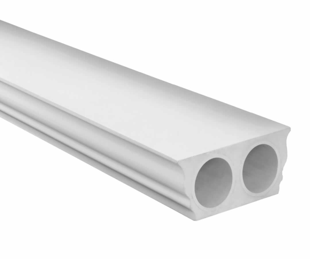 Polyurethane Top Straight Rail
