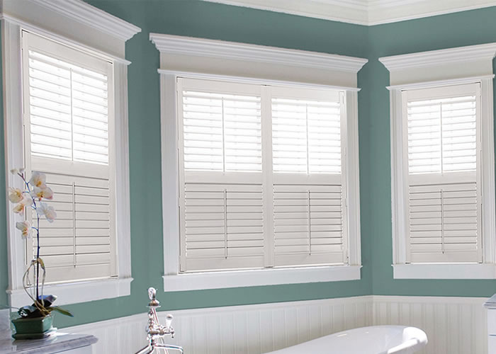 Custom shutters indoor shutters window shutter for Interieur shutters