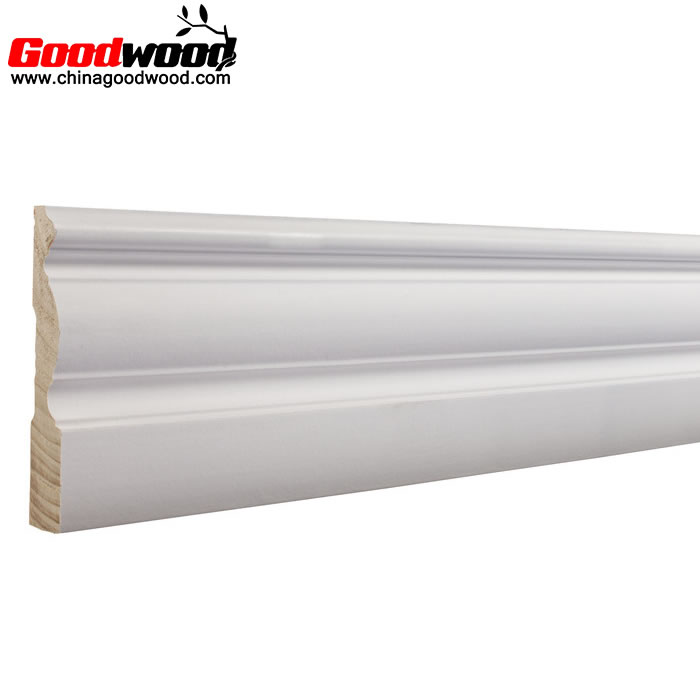 White Decorative Primed Wood Casing