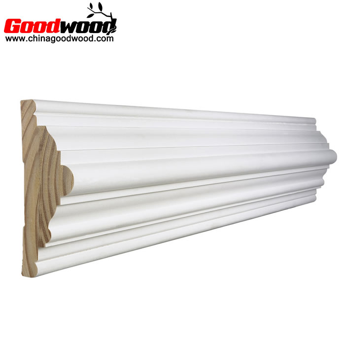Primer Interior Door Trim Decorative Corner Wood Molding