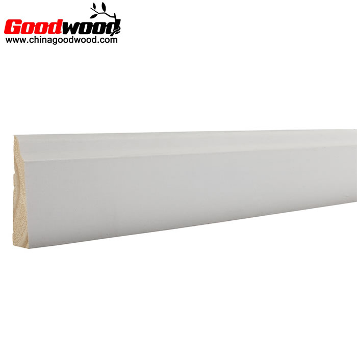 Decorative Baseboard Wood Moulding Skirting