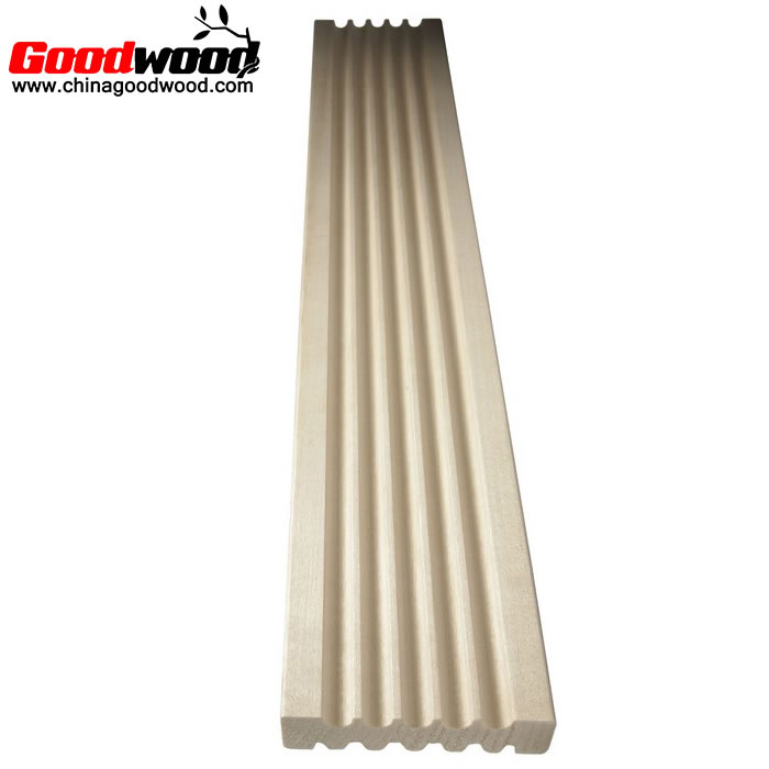 White water-based paint decoration wood moulding