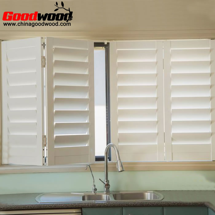 Kitchen bifold shutters