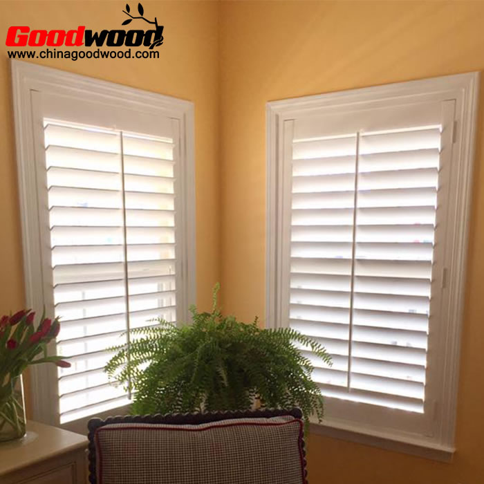 louver wooden shutters