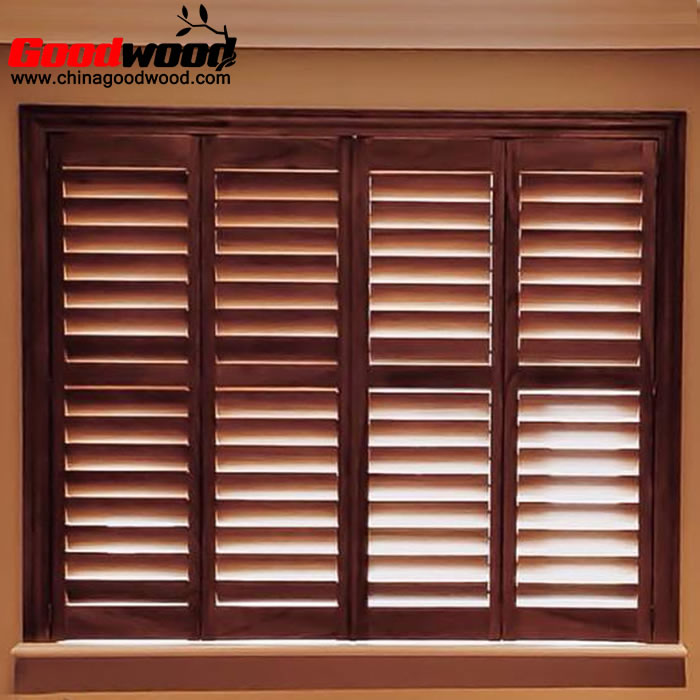 cheapest wooden plantation shutters from china