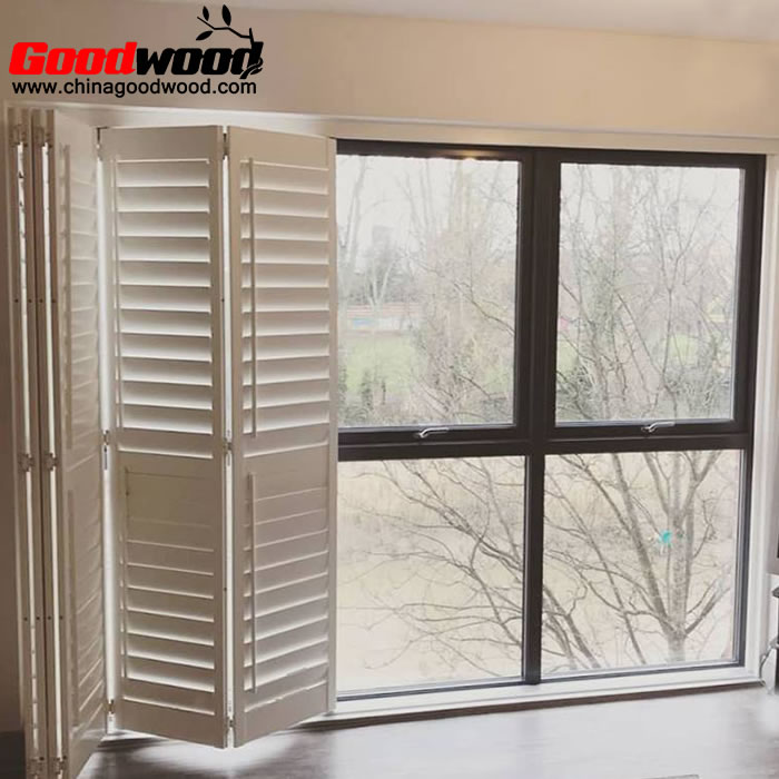 bifold window shutters interior